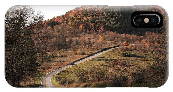 Autumn Hill Near Hancock Maryland IPhone Case