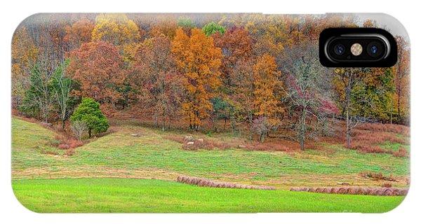 IPhone Case featuring the photograph Autumn Hillside by Wanda Krack