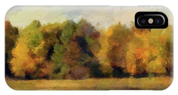 Autumn Impression 4 IPhone Case