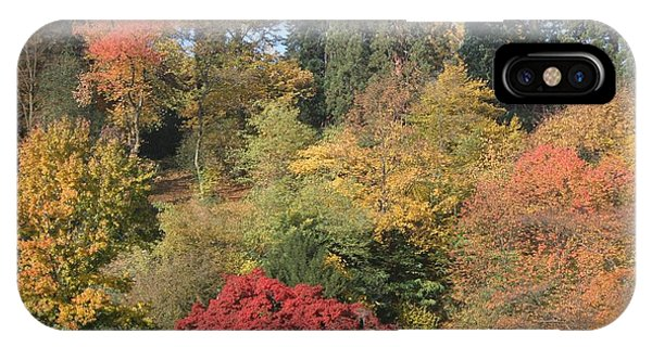 Autumn In Baden Baden IPhone Case