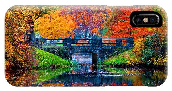 Autumn In Boston IPhone Case