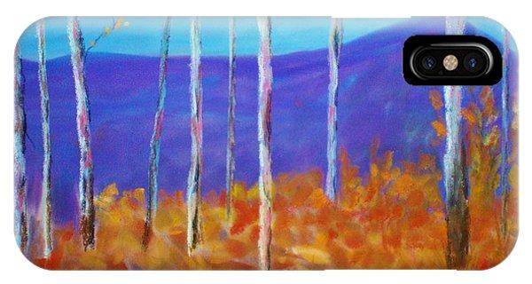 Autumn In Cloudcroft IPhone Case