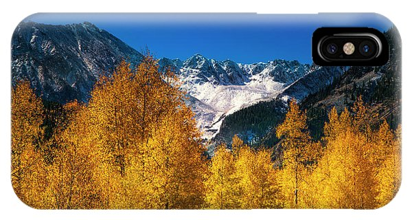 Autumn In Colorado IPhone Case