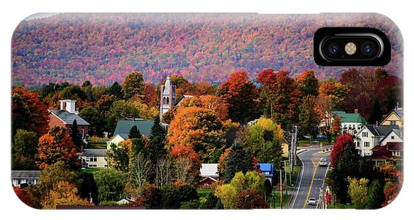 Autumn In Danville Vermont IPhone Case