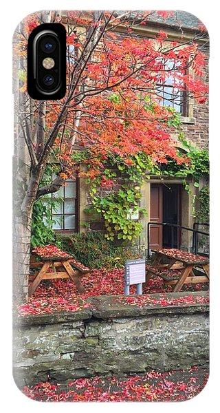 Autumn In Dunblane IPhone Case