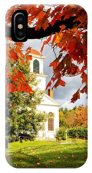 Autumn In Gilmanton IPhone Case