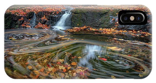 New England Fall Foliage iPhone Case - Autumn In Hallowell by Rick Berk