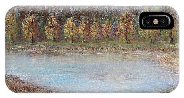 Autumn In Maule IPhone Case