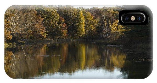 Autumn In Mears Michigan IPhone Case