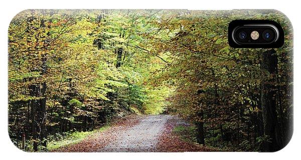 Autumn In Michigan IPhone Case