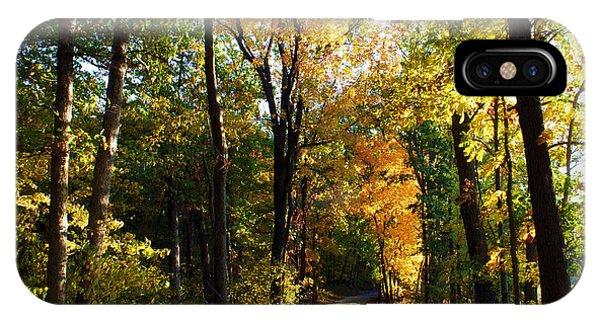 Autumn In Missouri IPhone Case