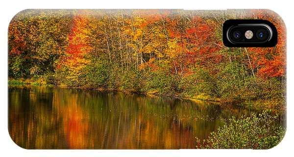Autumn In Monroe IPhone Case