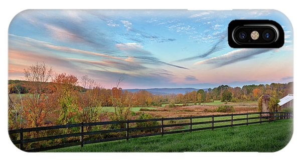 Connecticut Country Autumn IPhone Case