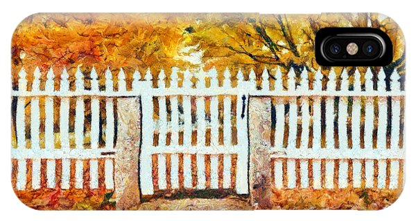 New England Fall Foliage iPhone Case - Autumn In New England by Edward Fielding