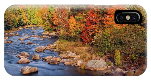 Autumn In New Hampshire IPhone Case