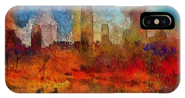 Autumn In New York IPhone Case