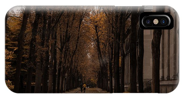 Autumn In Paris 1 IPhone Case