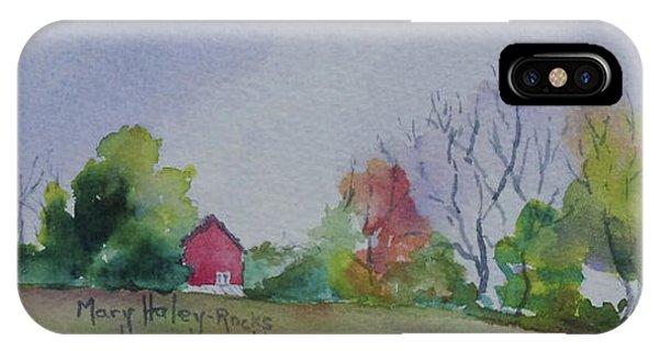 Autumn In Rural Ohio IPhone Case