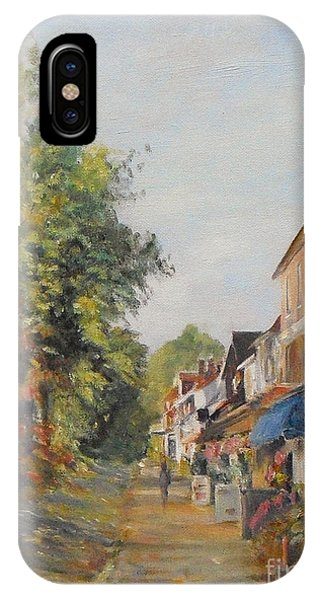 Autumn In Tenterden Kent IPhone Case