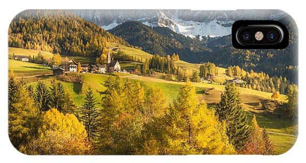 Autumn In The Alps IPhone Case