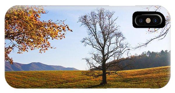 Autumn In The Cove IPhone Case
