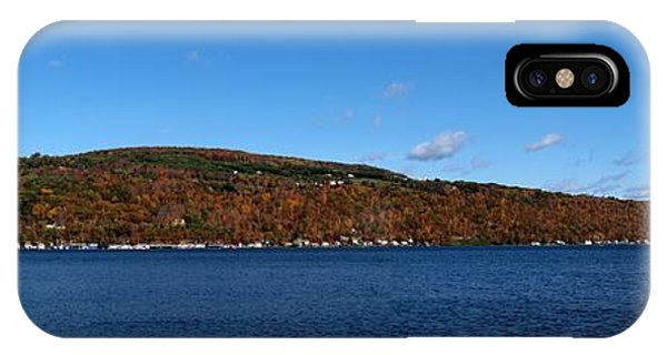 Autumn In The Finger Lakes IPhone Case