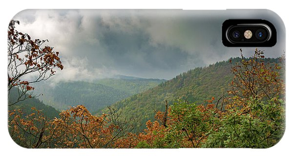 Autumn In The Ilsetal, Harz IPhone Case