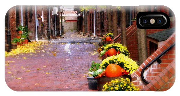 Autumn In The North End IPhone Case