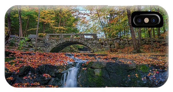 New England Fall Foliage iPhone Case - Autumn In Vaughan Woods by Rick Berk
