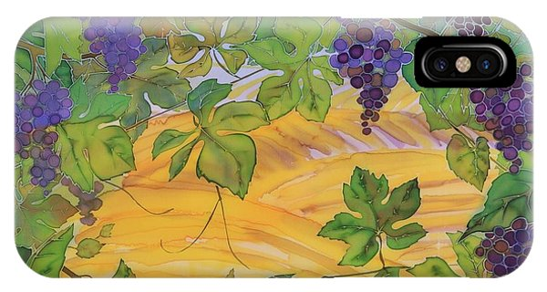 Autumn In Wine Country Phone Case by Carolyn Doe