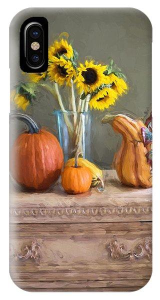 IPhone Case featuring the digital art Autumn by Jill Wellington