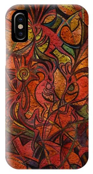 Autumn Kokopelli IPhone Case