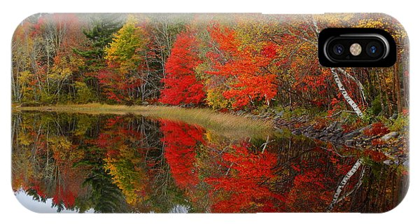 Autumn Lake, Nova Scotia IPhone Case