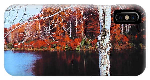 Autumn Lake IPhone Case