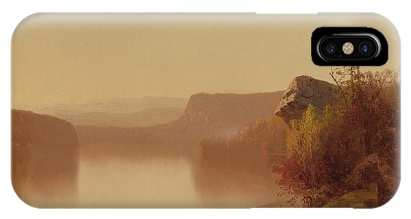 Jervis iPhone Case - Autumn Lake Scene by Jervis McEntee