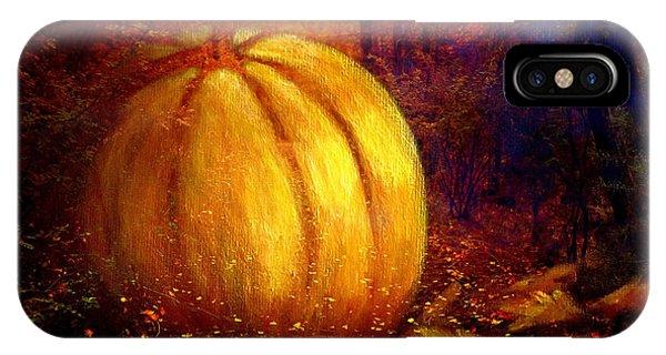 Autumn Landscape Painting IPhone Case
