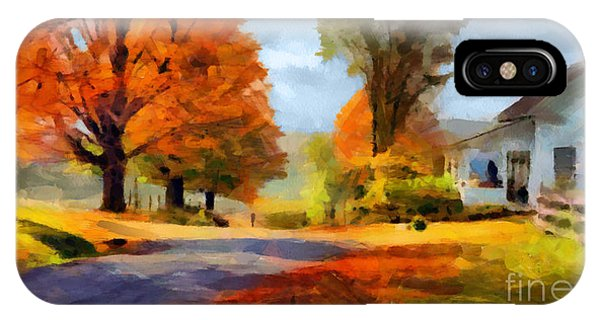 Autumn Landscape IPhone Case