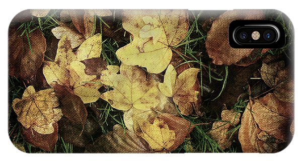 Autumn Leaves Are Falling Down... IPhone Case