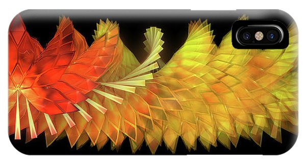 Autumn Leaves - Composition 2.2 IPhone Case