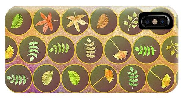 Autumn iPhone X Case - Autumn Leaves by Gaspar Avila