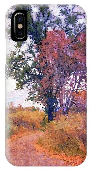 Autumn Melancholy IPhone Case