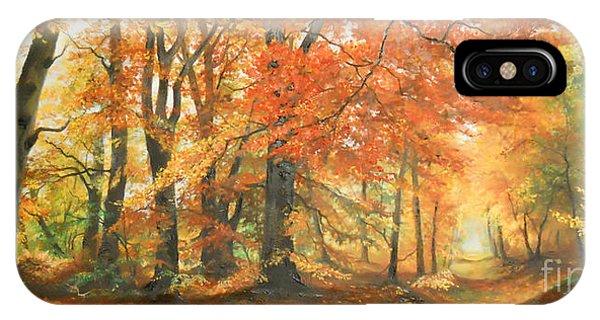 Autumn Mirage IPhone Case