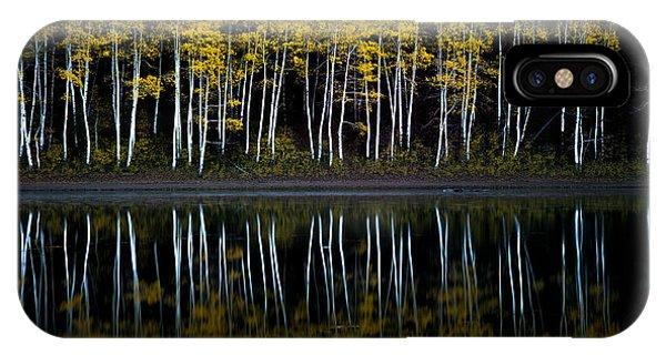 Autumn Mirror IPhone Case