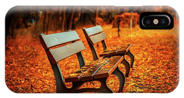 Autumn iPhone X Case - Autumn Moments by Happy Home Artistry