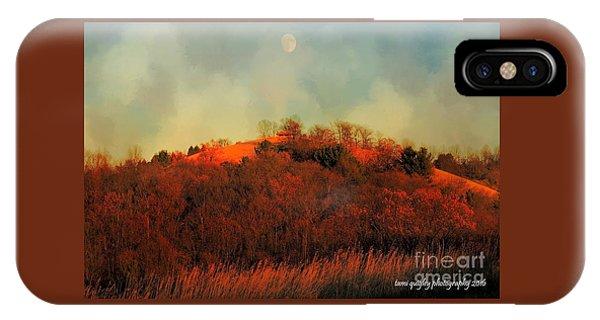 Autumn Moonrise IPhone Case