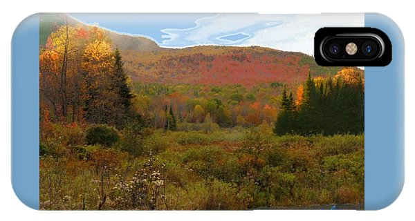 Autumn  Moose Bog IPhone Case