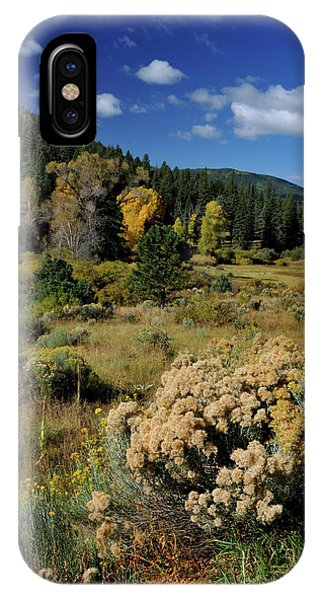 IPhone Case featuring the photograph Autumn Morning In The Canyon by Ron Cline