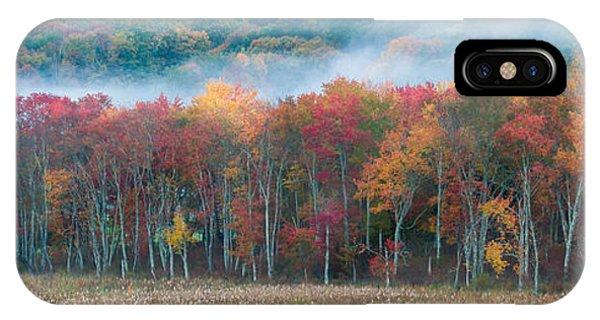 Autumn Morning Mist IPhone Case