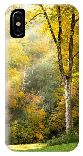 Autumn Morning Rays IPhone Case
