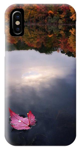 Autumn Mornings Iv IPhone Case
